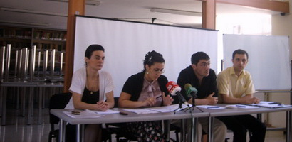 Meeting of students with representatives of NGO-s
