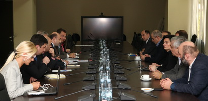 Meeting with Director of NATO Defence Policy and Planning Directorate Frank Boland