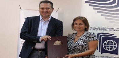 Memorandum of Understanding with Levan Mikeladze Diplomatic Training Centre of MFA Georgia