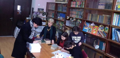 Initiative - help the Mountainous Adjara and Svaneti schools with books