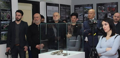 Ambassador of Republic of  Slovakia at the Museum of Occupation in Gori