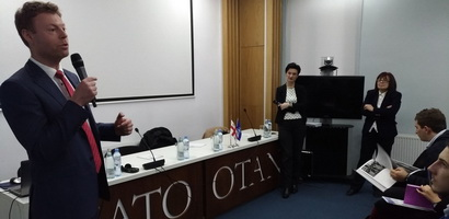 Discussion with Jiri Pretslik, Charge d'Affaires of Czech Republic to Georgia and Tengiz Pkhaladze, Georgian expert