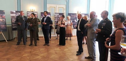 10 years of Russian Military Aggression. Exhibition at the