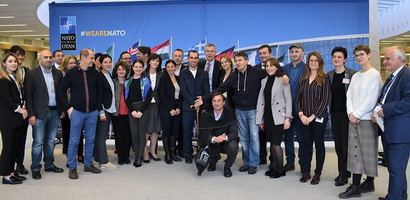 Head of ICGS Nato Bachiashvili took part to the Georgian Opinion makers visit at NATO HQ and European Commission