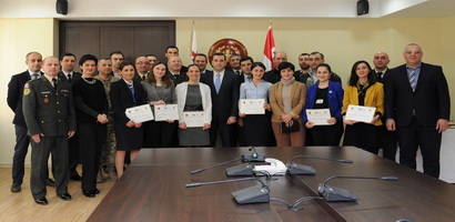 National Security and Diplomacy Course's Graduation Ceremony